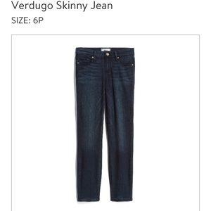 PAIGE denim Verdugo Ankle Skinny Petite 28 jeans